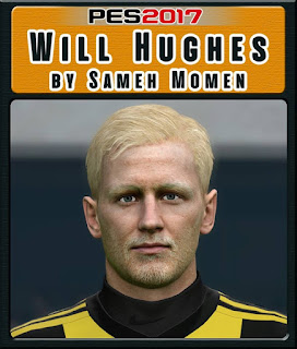 PES 2017 Faces Will Hughes by Sameh Momen