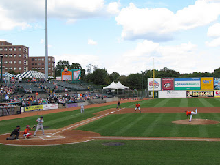 First pitch, Riversharks vs. Ducks