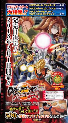 """""""Dragon Ball FighterZ"""" tendrá a Nappa y Ginyu y se lanzará el 1 de febrero en Japón."""