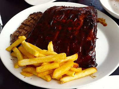 Steak and Ribs at Hurricane's Grill Bondi Beach