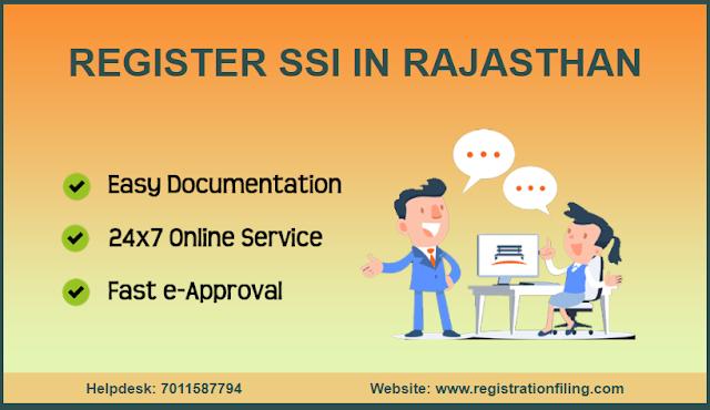 REGISTER MSME / SSI IN RAJASTHAN