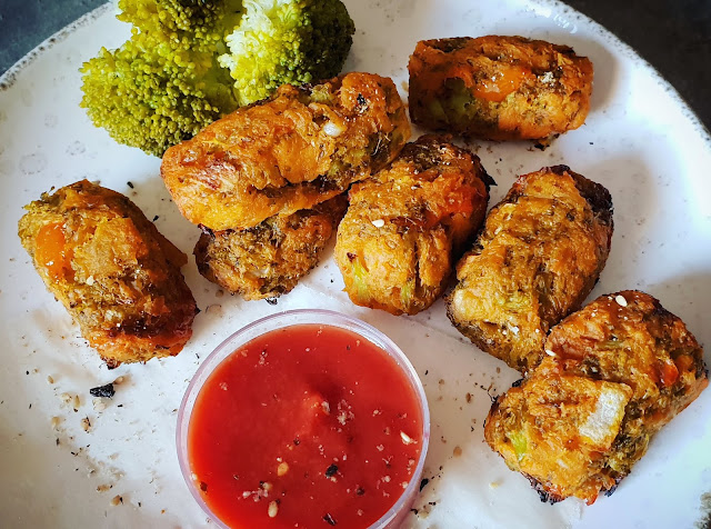 CROQUETTES PATATE DOUCE/BROCOLI