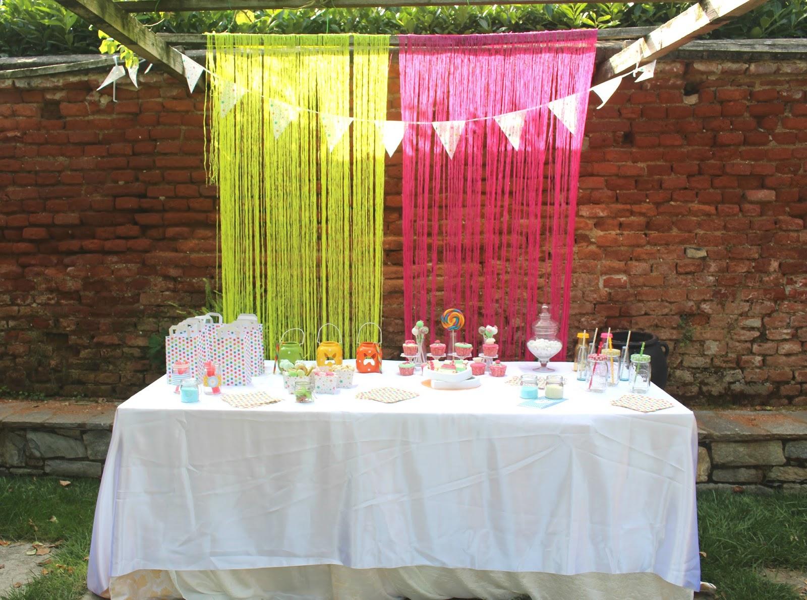 [Party] Un allestimento rosa e giallo per il compleanno della vostra bimba