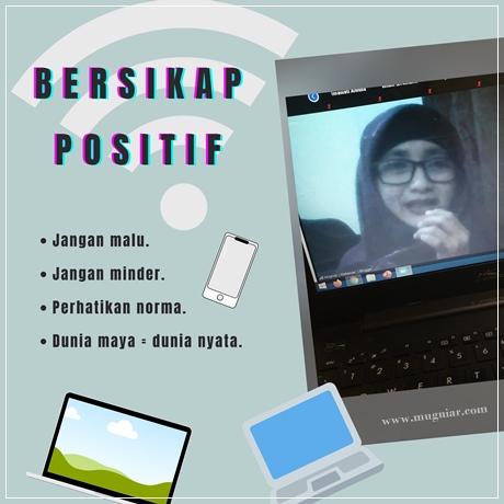 Bersikap Positif dalam ngeblog