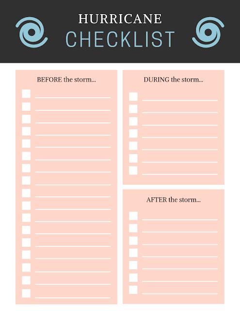Hurricane Checklist