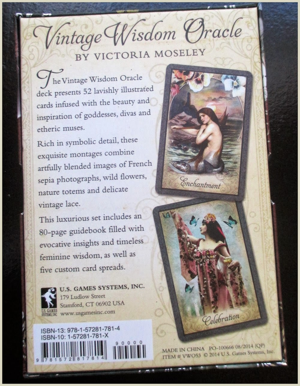 Vintage Wisdom Oracle Bonnie Cehovet: Tarot Notes: REVIEW: Vintage Wisdom Oracle