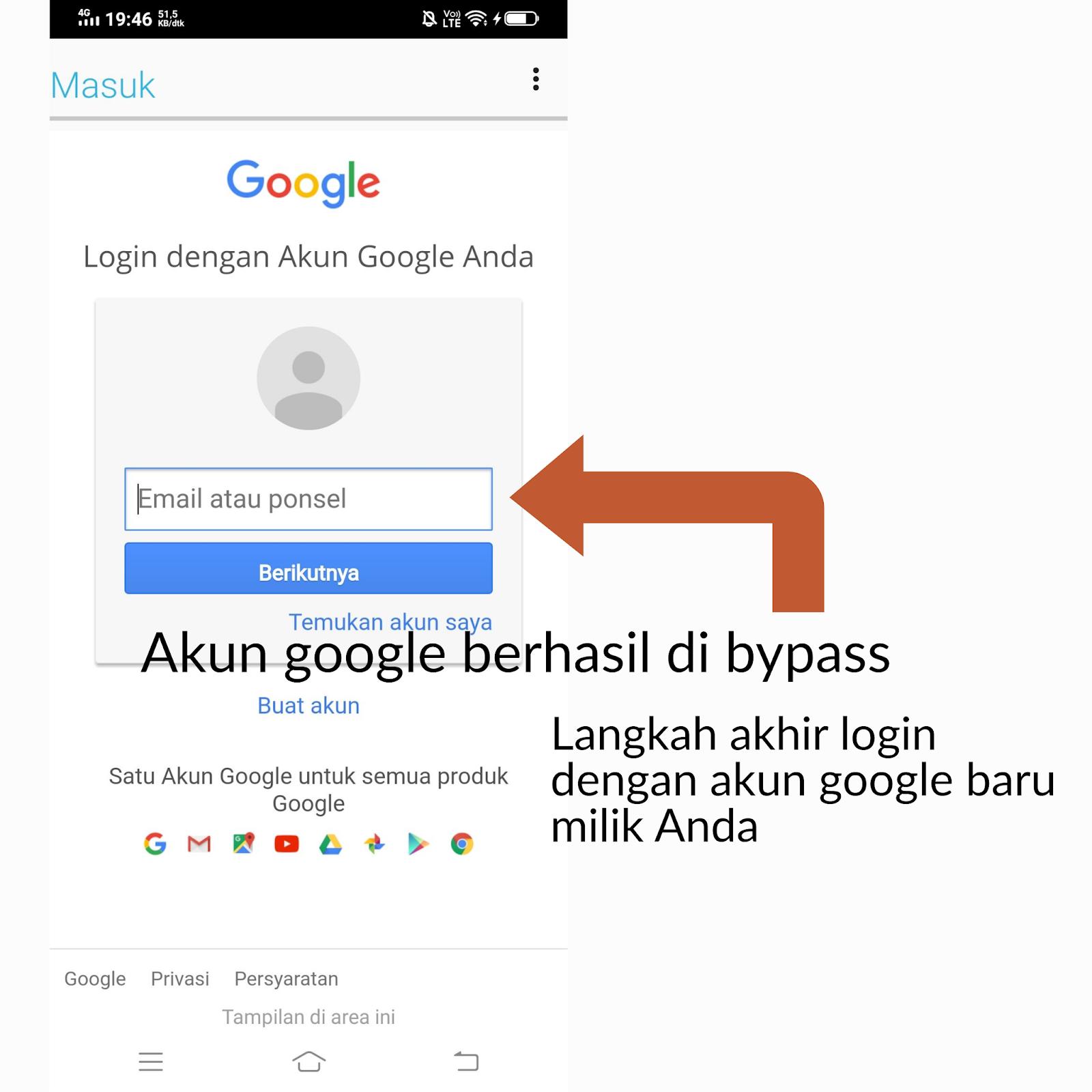Cara Melewati Verifikasi Reset Pabrik Android Karena Lupa Password Akun Google Gmail 2020 Jelajah Android
