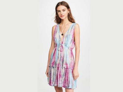 vestido corto batik estilo folk