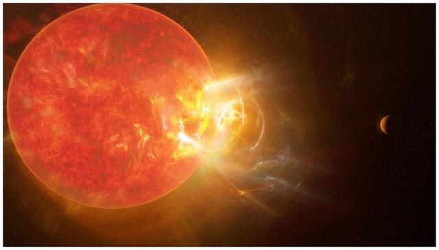 Τεράστια φλόγα από τον πλησιέστερο γείτονα του ήλιου Proxima Centauri, σπάζει ρεκόρ