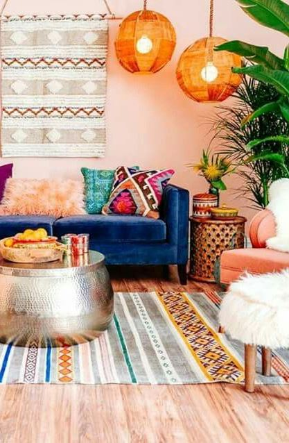 bohemian chic interior design