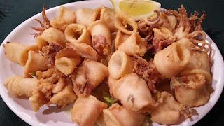 Plato de calamares