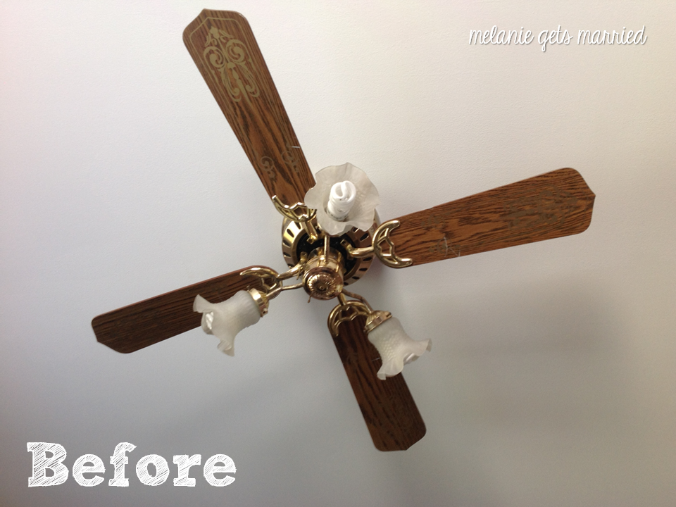 Making It In The Mitten Ceiling Fan Makeover