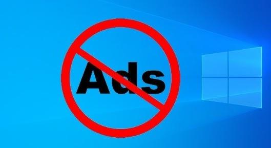 شرح تعطيل و إزالة الإعلانات في ويندوز 10