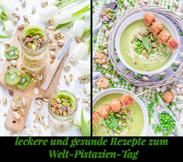 leckere und gesunde Rezepte mit amerikanischen Pistazien zum Welt-Pistazien-Tag