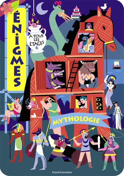 Enigmes à tous les étages 6 - Mythologie