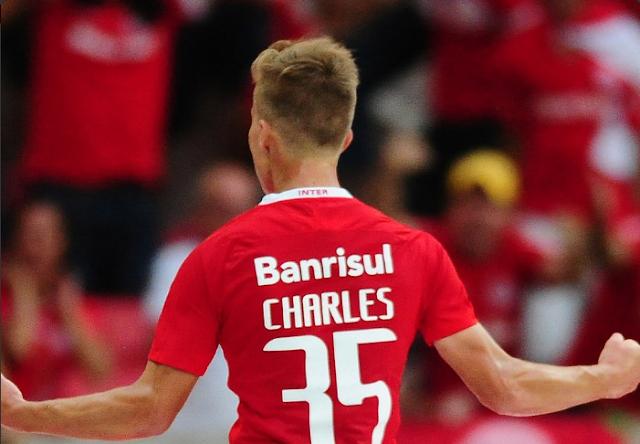 Charles, jogador do Internacional (Foto: Reprodução)