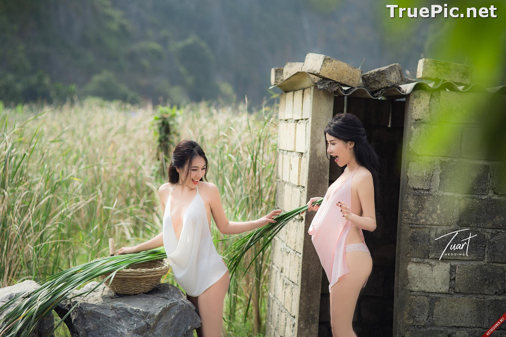 Image Vietnamese Hot Model - Two Sexy Girl In The Valley - TruePic.net - Picture-7