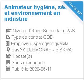 Animateur hygiène, sécurité et environnement en industrie