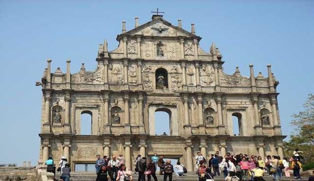 St Paul's Church Walls in Macau Charming