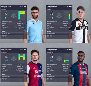 PES 2021 Facepack Serie A Vol 4