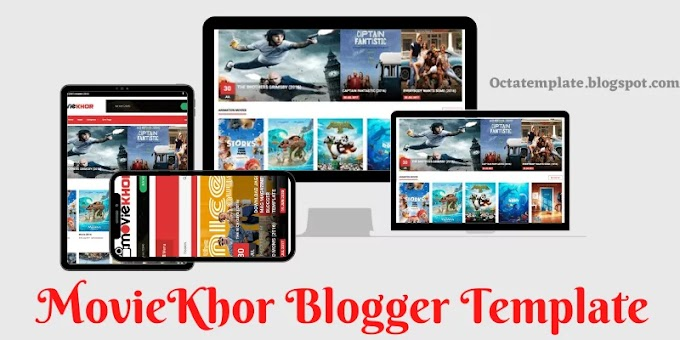 MovieKhor blogger template | Professional & Responsive movie blogger template