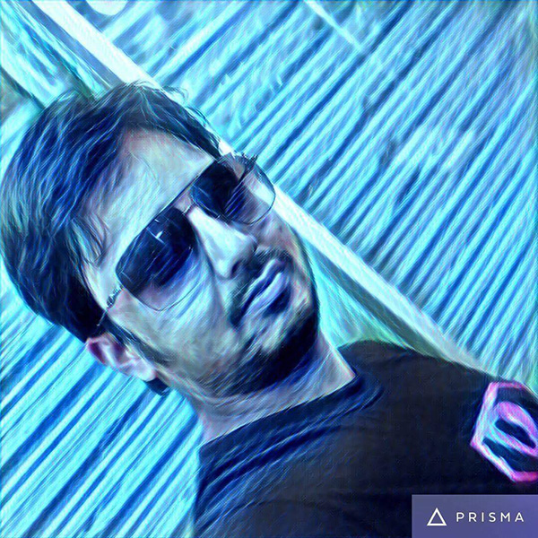 My Teacher Tahzib Tazim Sir, who used ios version of Prisma app