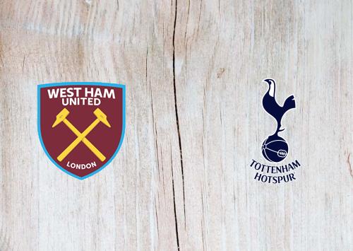 West Ham United vs Tottenham Hotspur -Highlights 21 February 2021