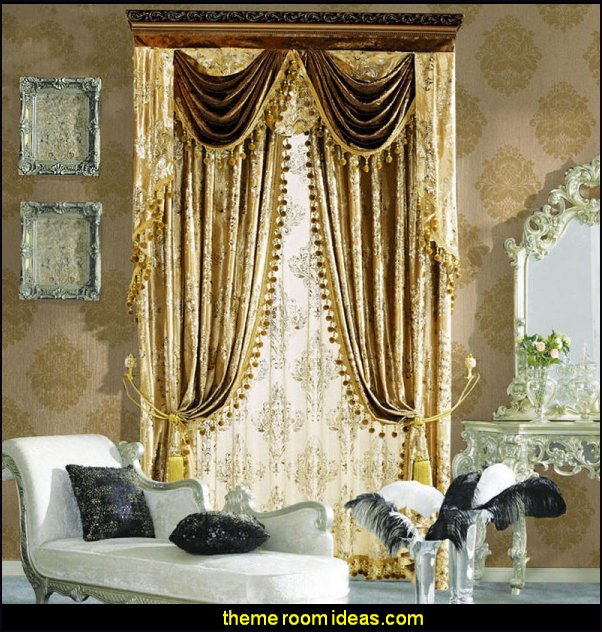 luxury curtains boudoir bedrooms window treatments curtains drapes window decorations