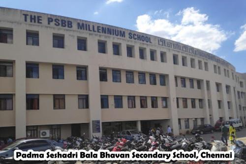 Padma Seshadri Bala Bhavan Secondary School, Chennai