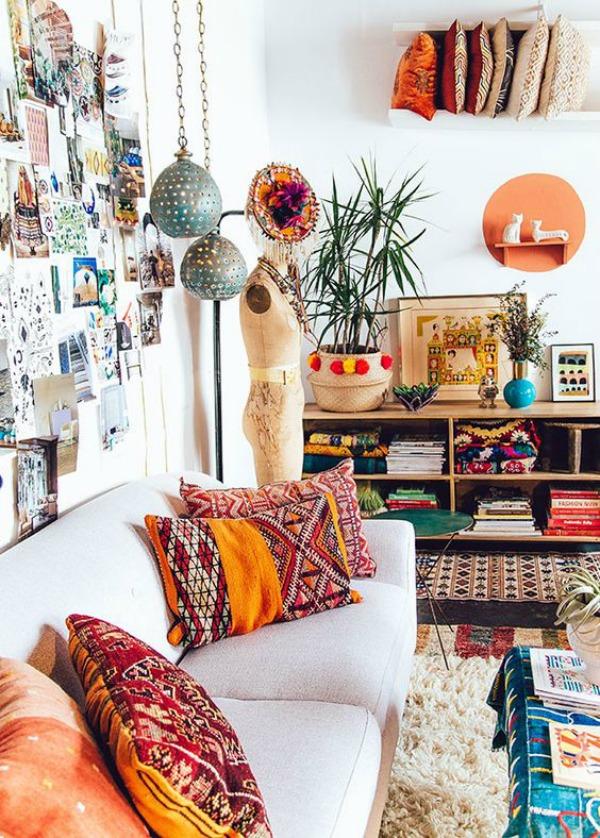 Claves para lograr un estilo bohemio en tu hogar