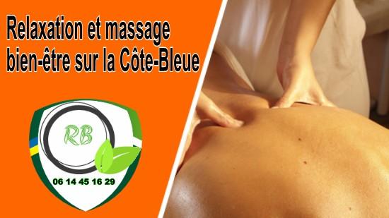 Relaxation et massage bien-être sur la Côte-Bleue;