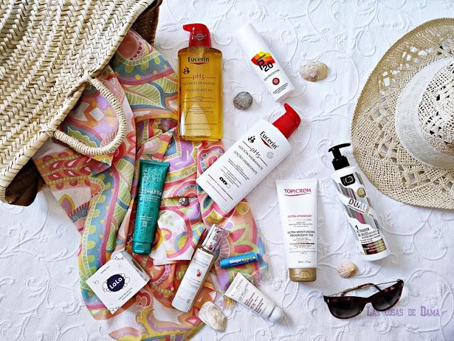 Básicos piel cabello verano belleza eucerin blistex p20 io planet topicream alma secret skincare beauty clarins sunprotect