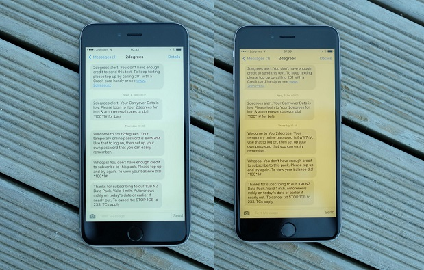 كيفية الحصول على ميزة الوضع الليلي Night Shift في iOS 9.3 على اندرويد