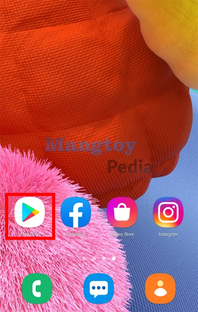 Buka Google Play Store