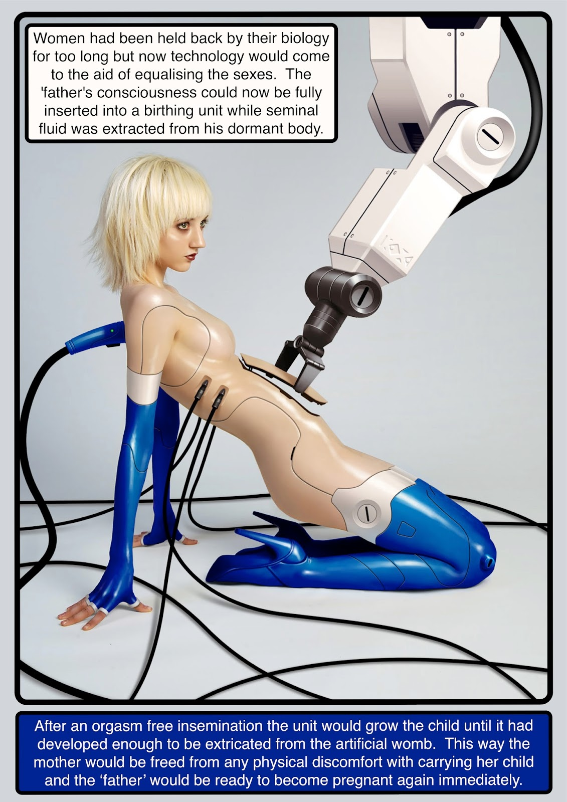 Porn with artificial woman erotic images