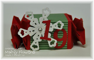 snowflake christmas stampin up