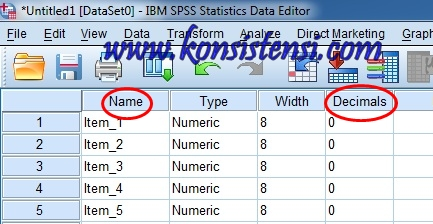 Uji Validitas Data dengan Corrected Item-Total Correlation dalam SPSS