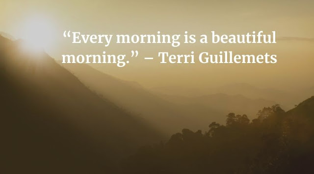 good morning quotes with images in english language