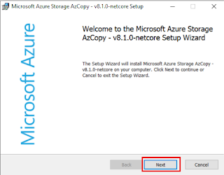Copy Our On-Premises Data to Azure Storage Using AZCopy