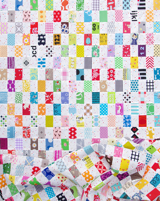 Rectangle Checkerboard Quilt | Work in progress 2016 | Red Pepper Quilts