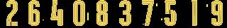 17 2Bgold Kit Numbers Puma 2017