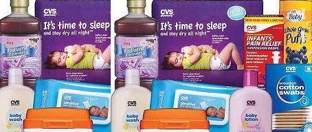 FREE CVS Health Baby items 3-1-3-7