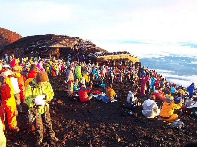 Fujisan Yama-biraki, Ceremonies to open the official climbing season of Mount Fuji, Kitaguchi Hongu Fuji Sengen-jinja Shrine, Komitake-jinja Shrine, Fuji-Yoshida, Yamanashi