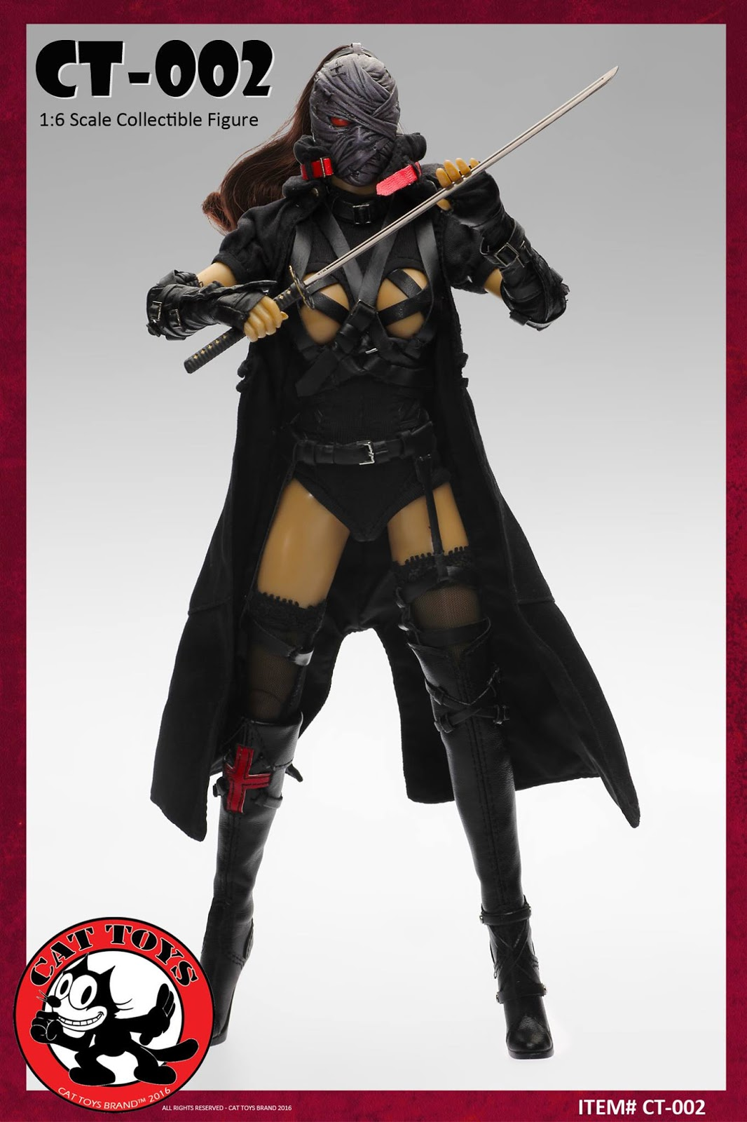 Toyhaven Cat Toys 16 Scale Dark Mourner 12 Inch Female Action 1 6 Interestingly Enough First Figure Released Looked A Lot Like Certain Harley From The Upcoming Film Which Was Previewed In My Previous Toy