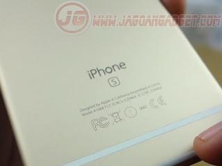 Logo Bagian Belakang iPhone 6S Replika Supercopy HDC