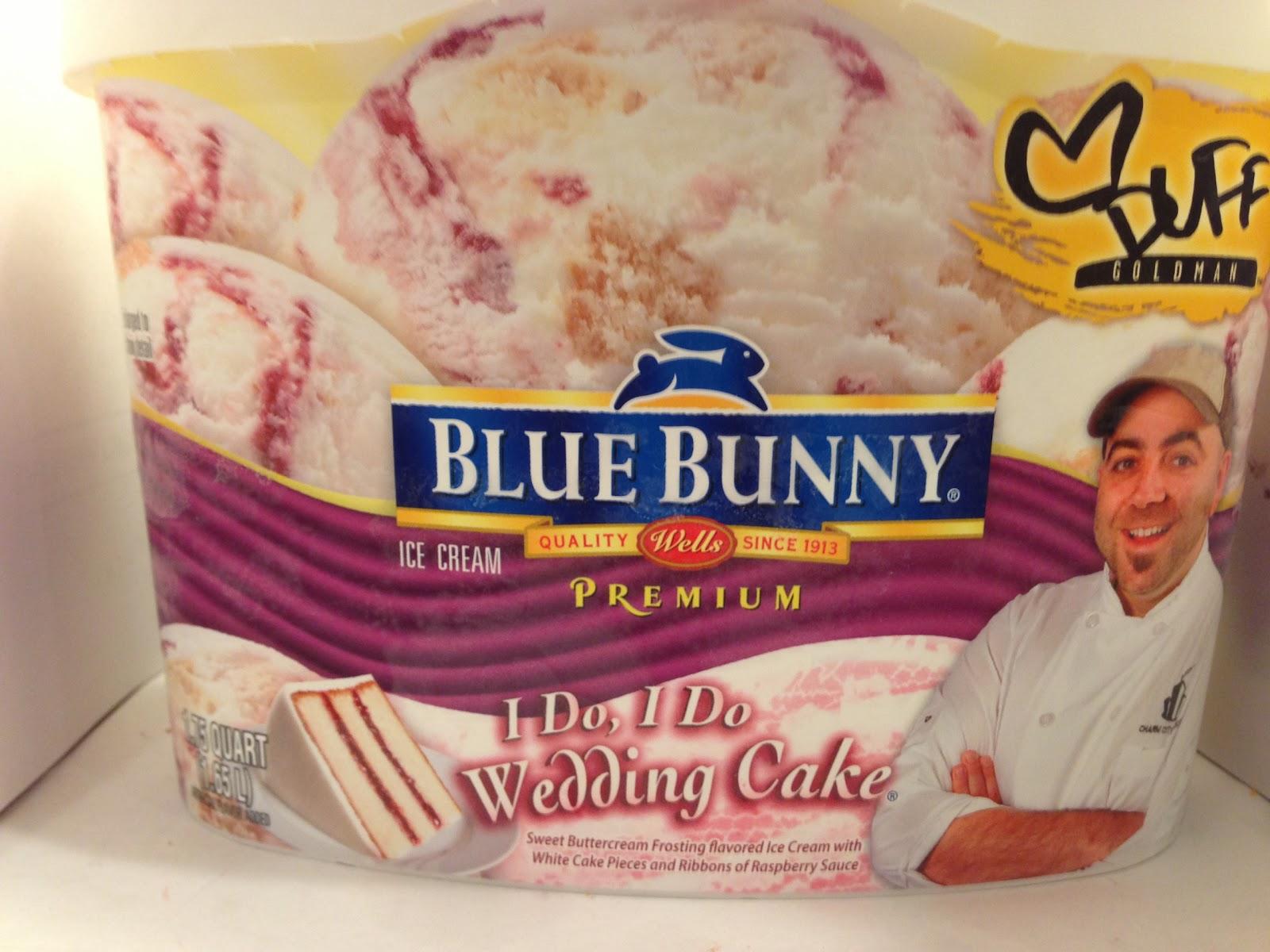 Crazy Food Dude Review Blue Bunny I Do I Do Wedding Cake Ice Cream