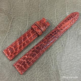 dây đồng hồ nữ da cá sấu 04