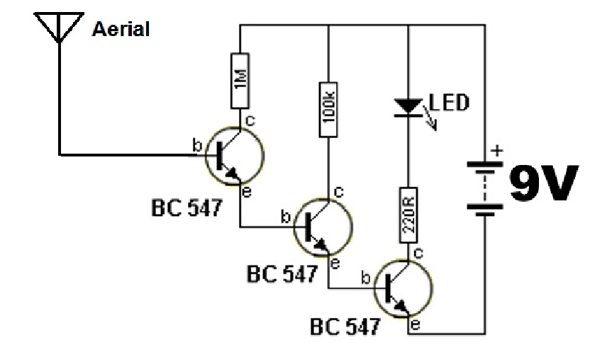 ac live wire detector without ic