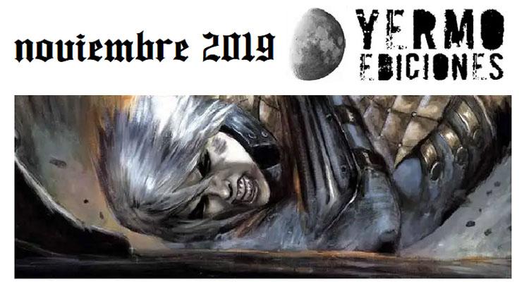 Yermo Ediciones: Novedades Noviembre de 2019