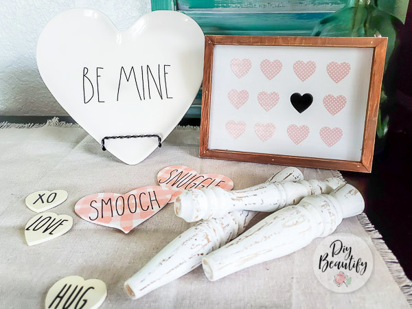Valentines vignette